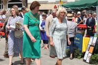 The Mayor and Duchess of Cornwall