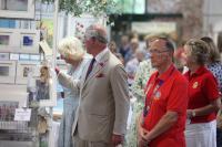 Tavistock Lions with the Royal Couple
