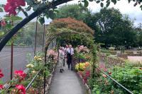 SW in Bloom Judging Sensory Garden
