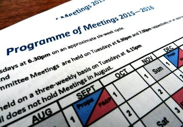 Program of Meetings