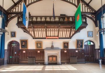 Town Hall Interior