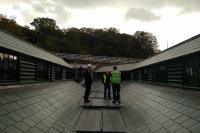 Butchers' Hall restored roof